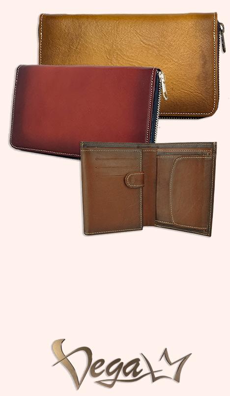 Kožené peňaženky VegaLM