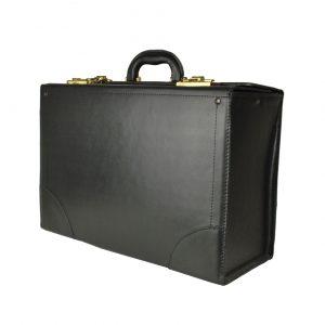Cestovný kufor č.8173 bez mechaniky v čiernej farbe