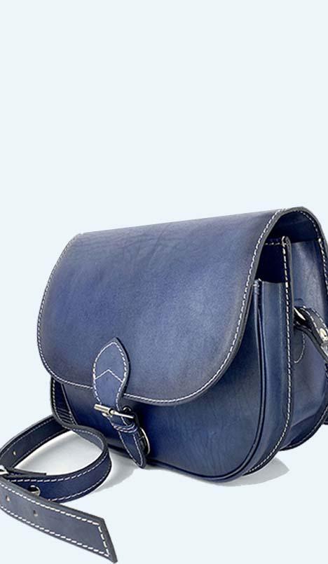 štýlové ručne farbené kabelky